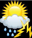 Wetter Entwicklung 17.07.